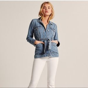 Abercrombie and Fitch denim jacket.